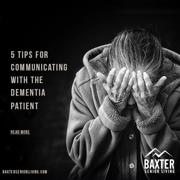 Communicating with the Dementia Patient