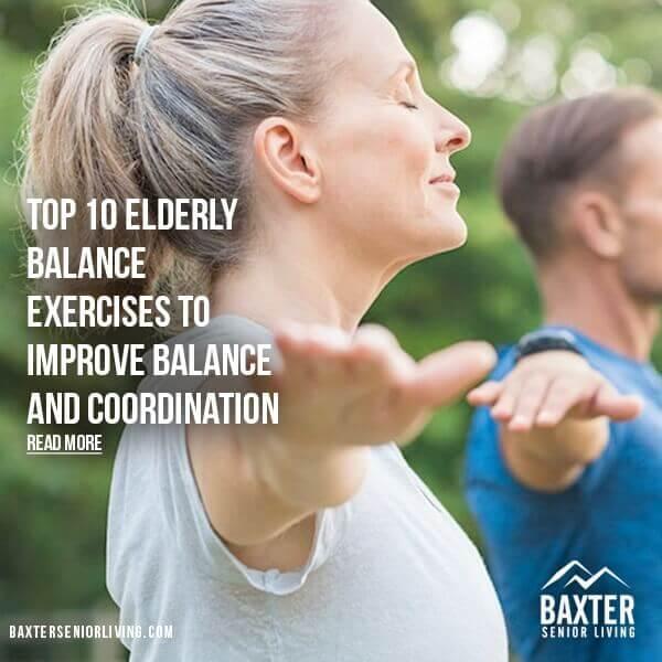 ELDERLY BALANCE EXERCISES