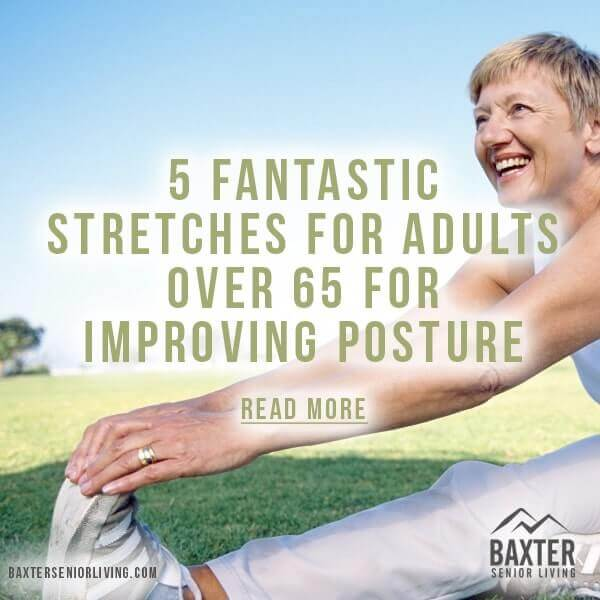 5 Fantastic Stretches for Adults over 65 for Improving Posture