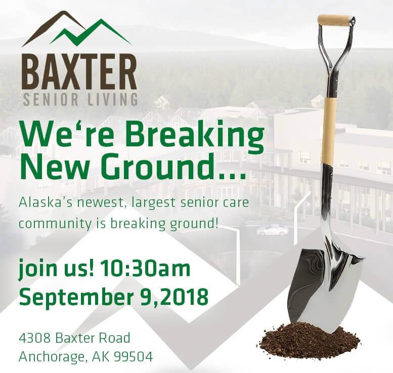 Groundbreaking – Baxter Senior Living