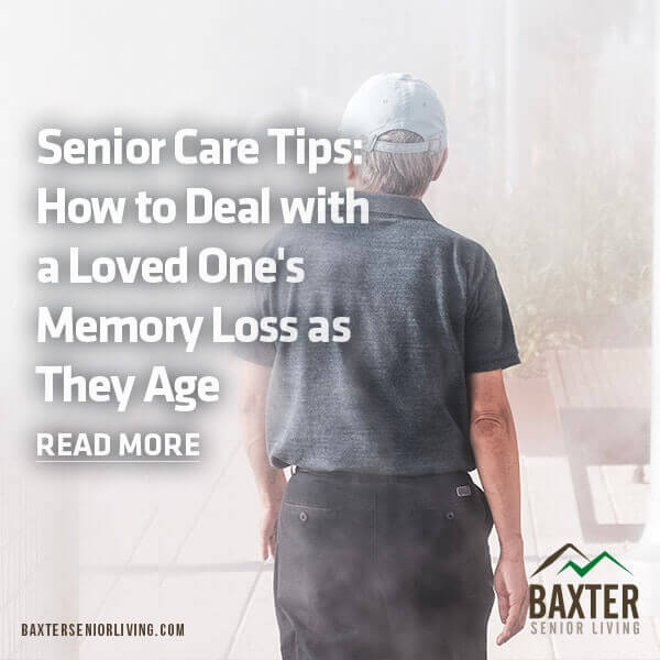 Senior Care Tips: How to Deal with a Loved One's Memory Loss as They Age