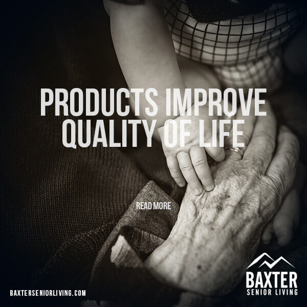 Assisted Living Products Improve Quality of Life