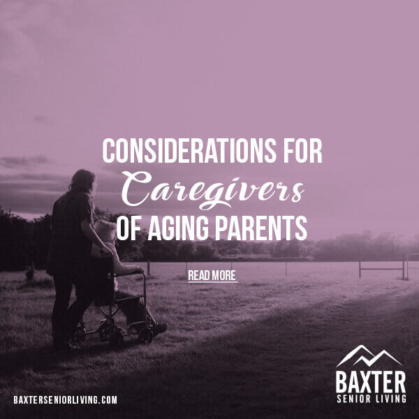 Caregivers of Aging Parents