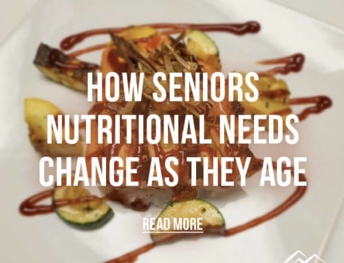 How Seniors Nutritional Needs Change As They Age