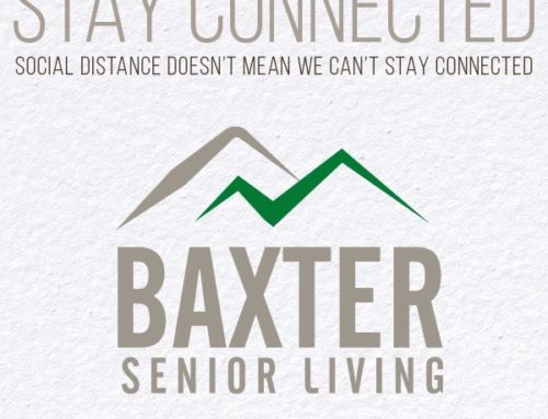 Baxter Senior Living is Staying Connected