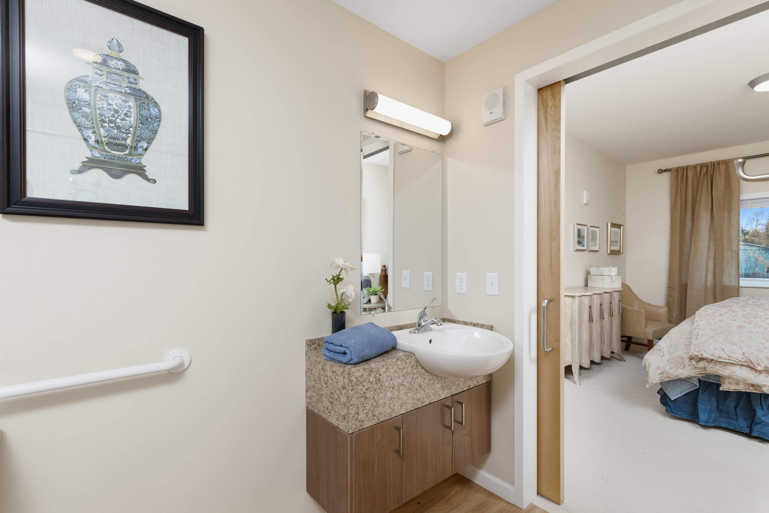 Baxter Senior Living Assisted Living - 1 Bedroom Bathroom
