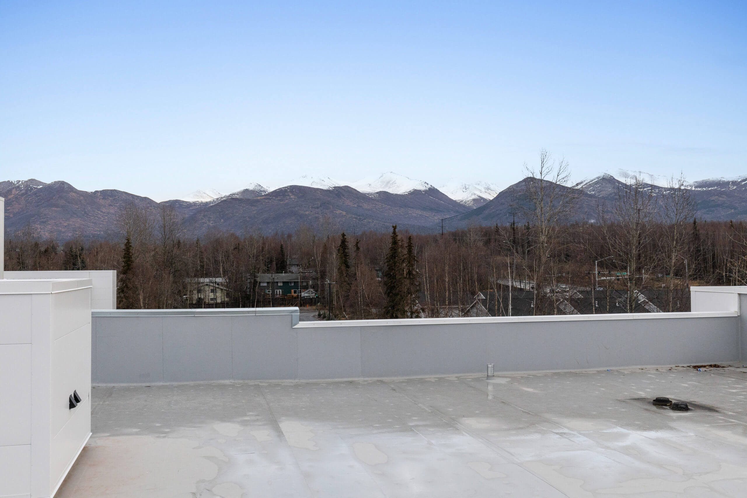 Baxter Senior Living Main Exterior Roof View