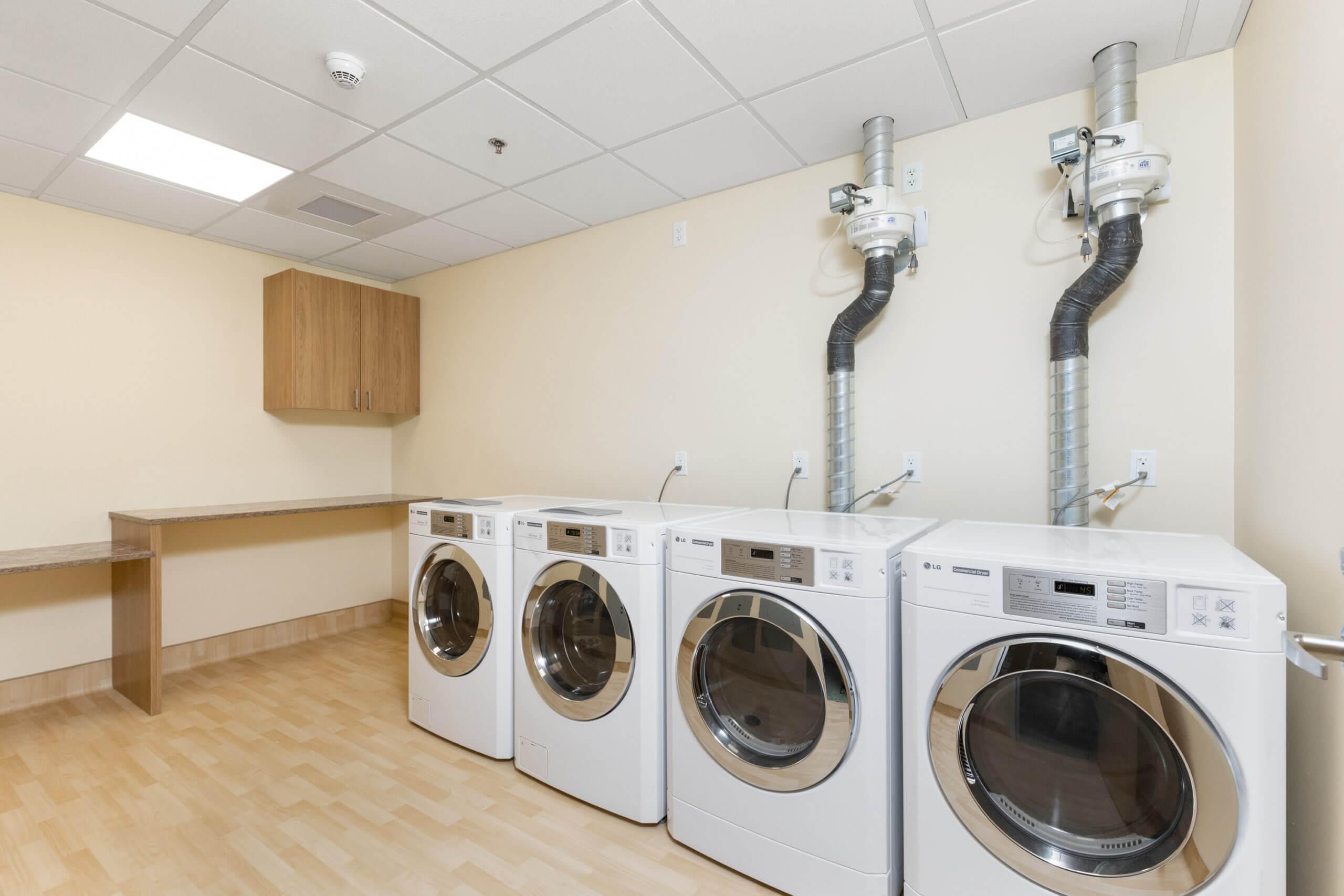 Baxter Senior Living Laundry Room