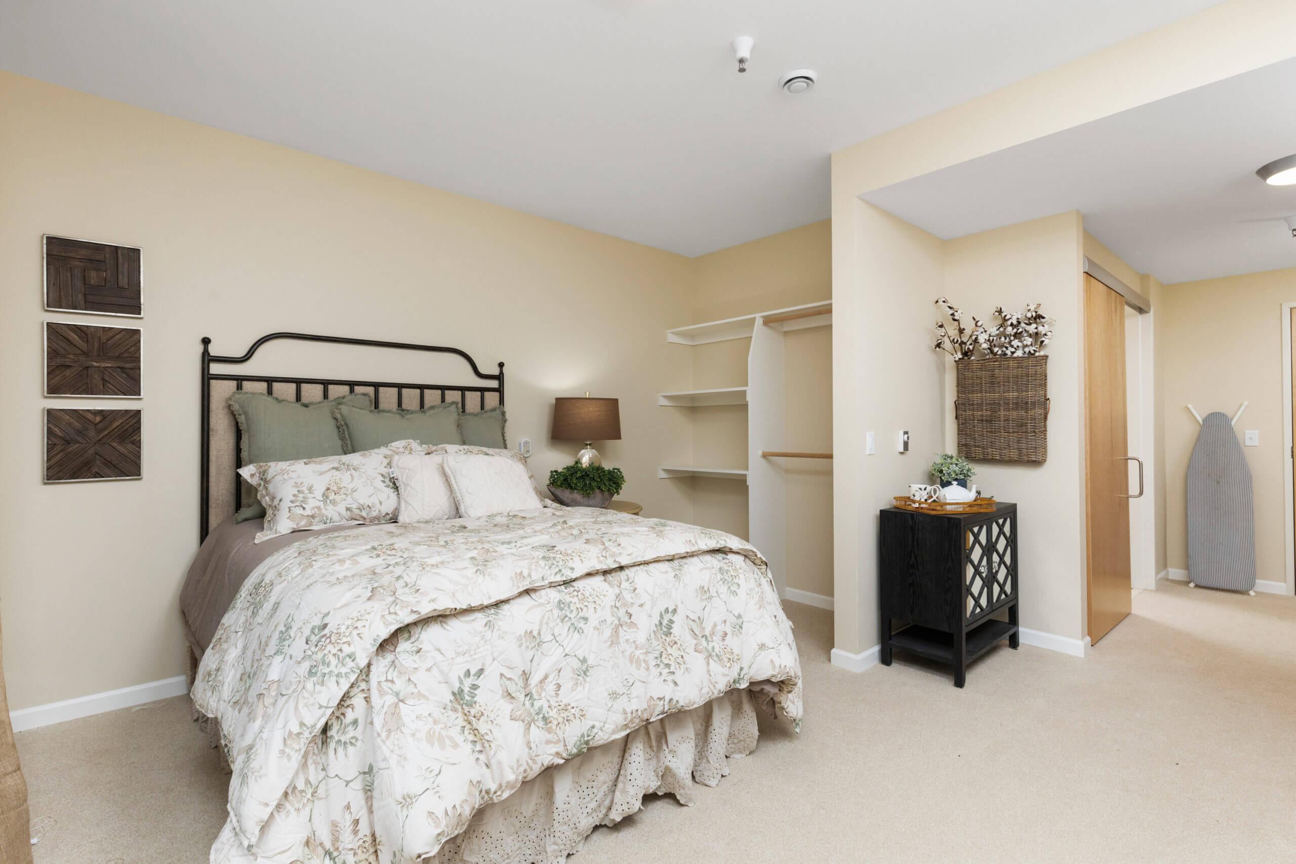 Baxter Senior Living Assisted Living Studio Bedroom