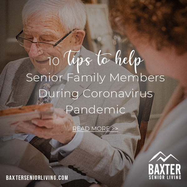 Senior Family Members During Coronavirus Pandemic