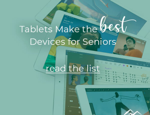 Tablets Make the Best Devices for Seniors