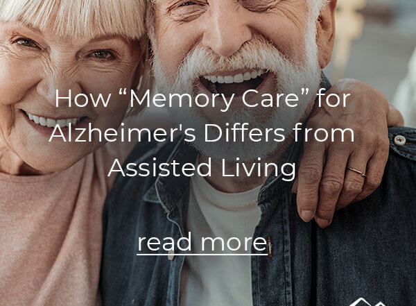 Memory Care for Alzheimer's
