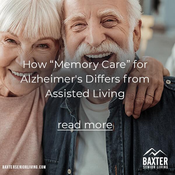 Memory Care for Alzheimer's