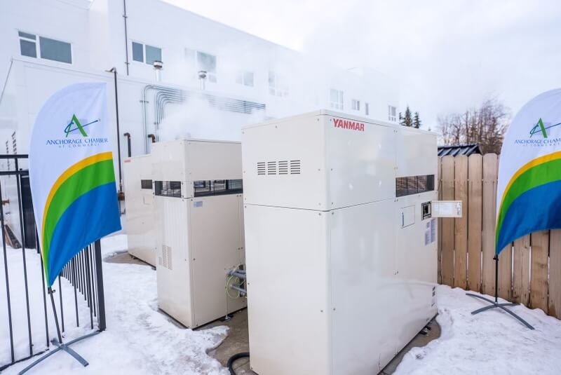 Anchorage senior living community gets green technology